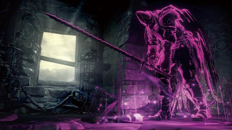 dark souls III boss fight