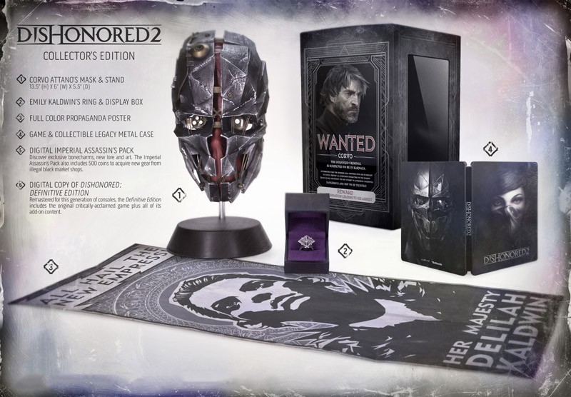 Dishonored 2 Collector Edition