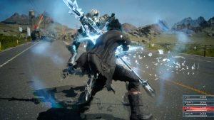 Gameplay-ul Final Fantasy XV game