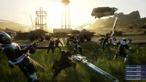 Gameplay-ul Final Fantasy XV fight