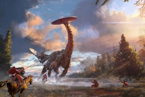 Horizon Zero Dawn dinozauri