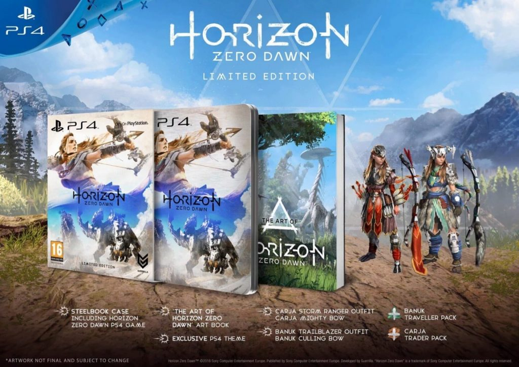 Horizon Zero Dawn edition