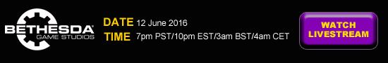 Stream E3 Bethesda