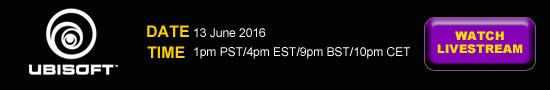Stream E3 Ubisoft