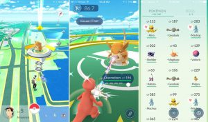 Pokemon Go Romania gameplay
