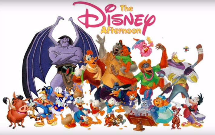 Disney Afternoon Collection cast