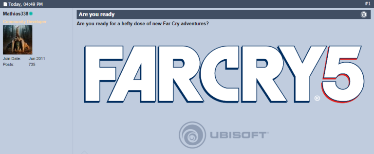 Ubisoft forums