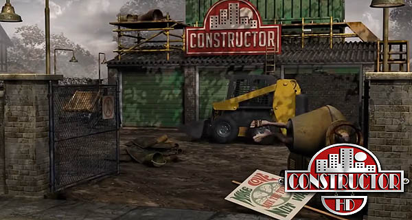 Constructor HD in game engine