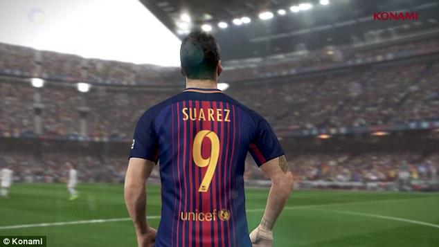 PES 18 Luis Suarez