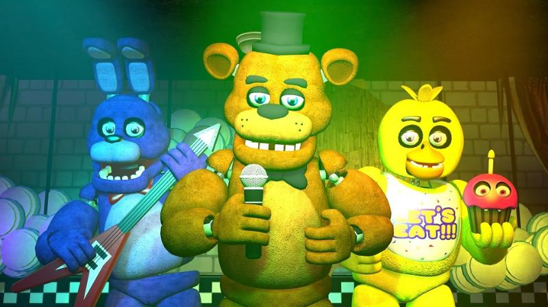 Five Nights at Freddy's front cover