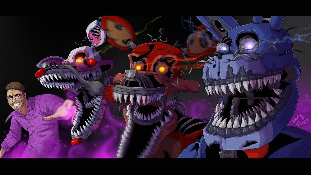 Five Nights at Freddy's fan art