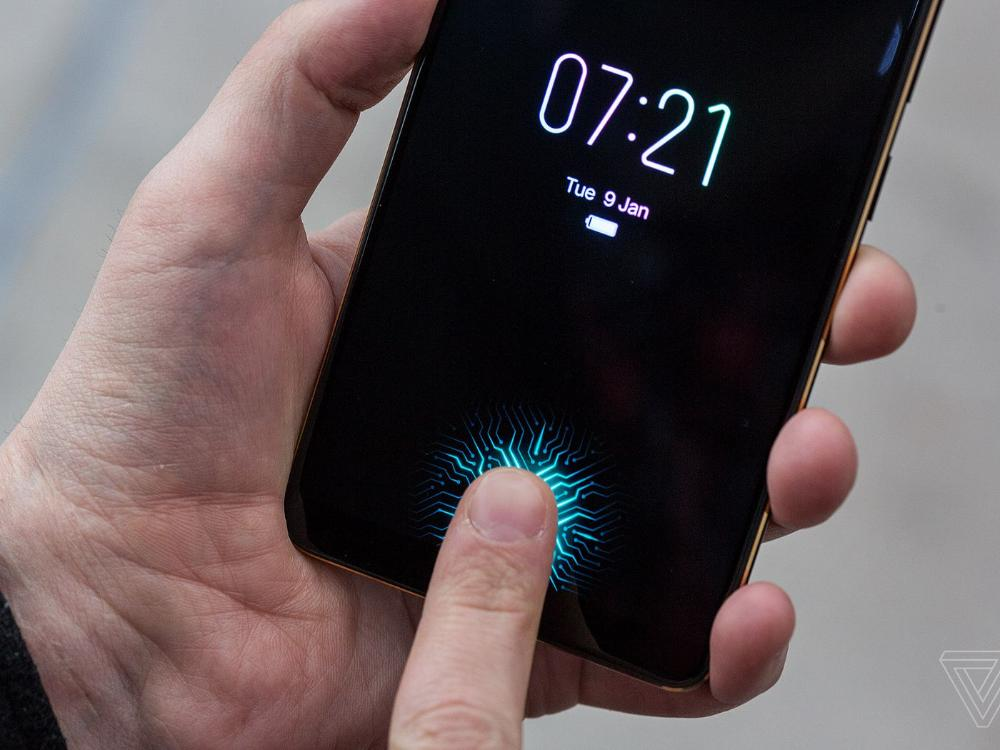 Vivo NEX fingerprint
