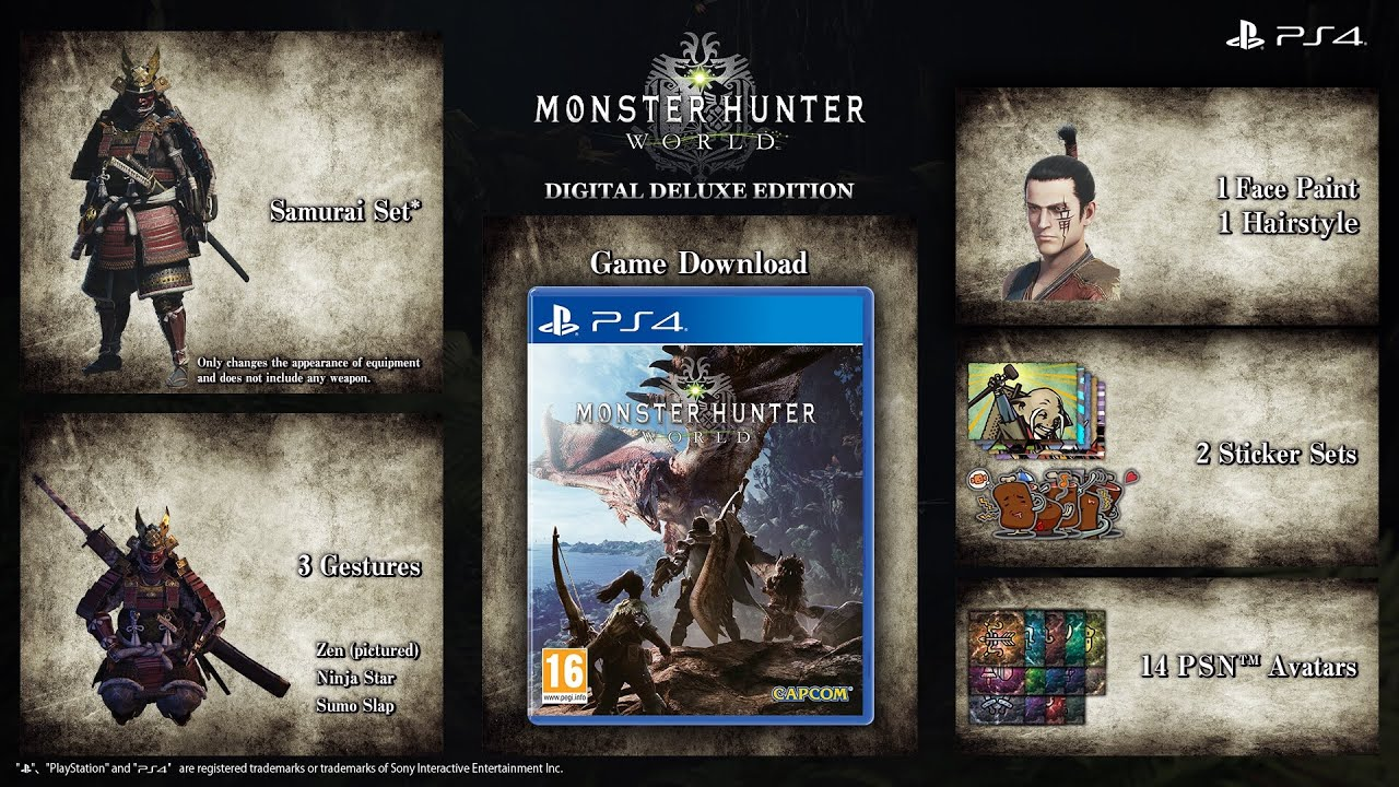 Monster Hunter Deluxe Edition