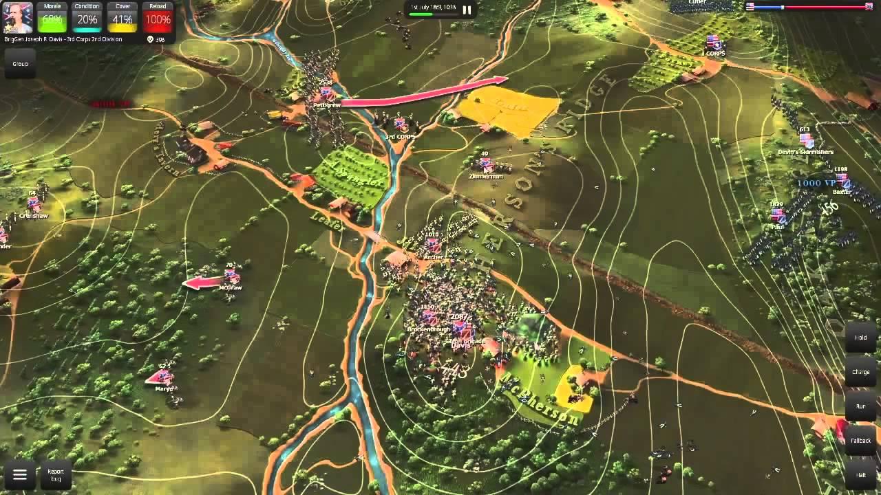 Joc Ultimate General Gettysburg