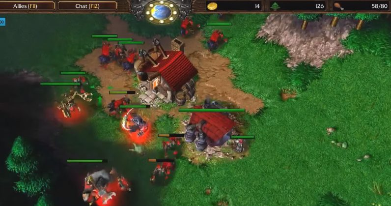 joc WarCraft III Reforged