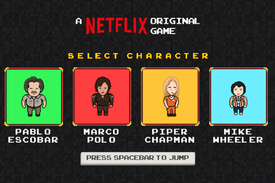 Netflix jocuri video