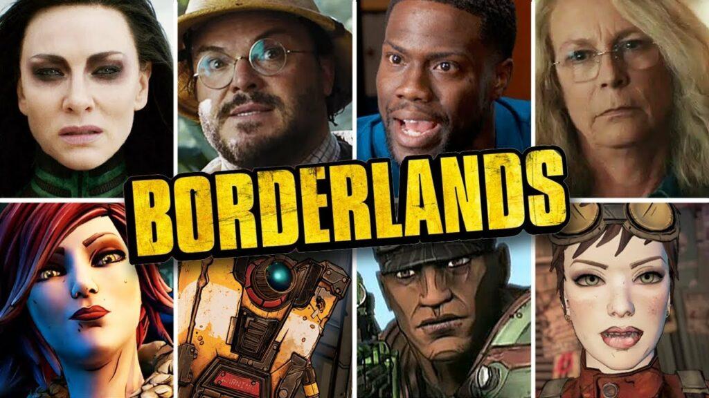 Borderlands movie actors