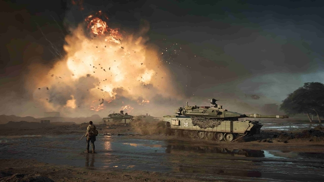 Battlefield 2042 fight