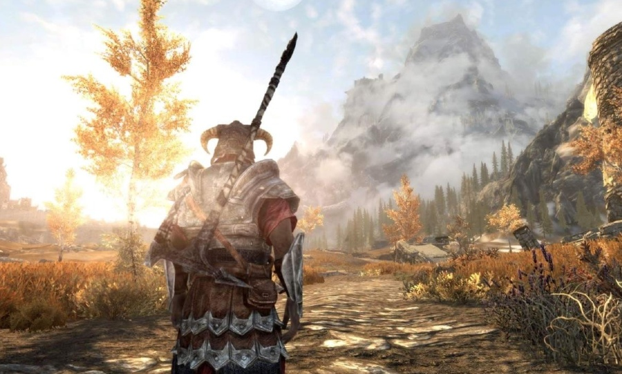 skyrim gameplay